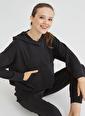 Penti Kadın Siyah Cupro Sweatshirt PH2XPIUR20SK Siyah